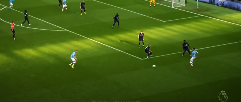 kdb crossing from the edge of the box