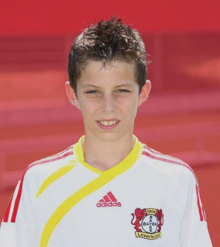 A young Kai Havertz